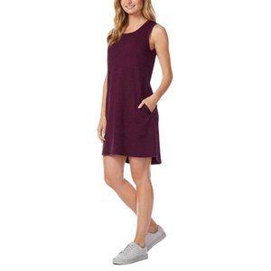32 DEGREES COOL Maroon Sleeveless Mini Dress